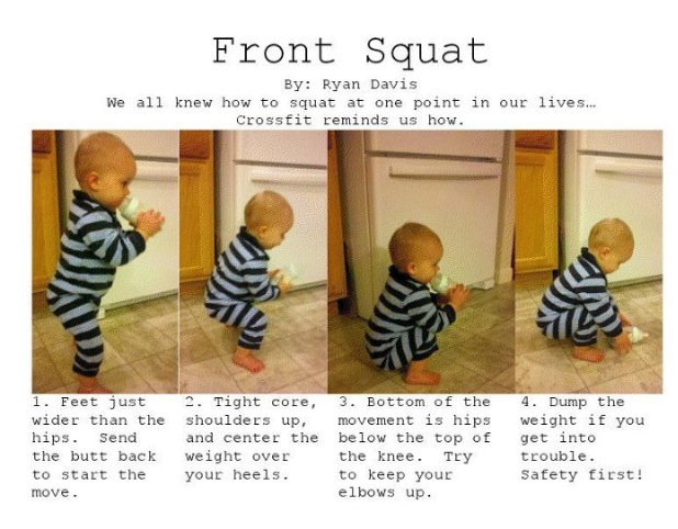Front Squat Day Folks. Events coming up include June Paleo Challenge , and CF Infinites '2 To Tango' comp. See FB for reg details. :-)
