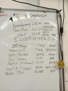 Slam Sandwich 5/7/14