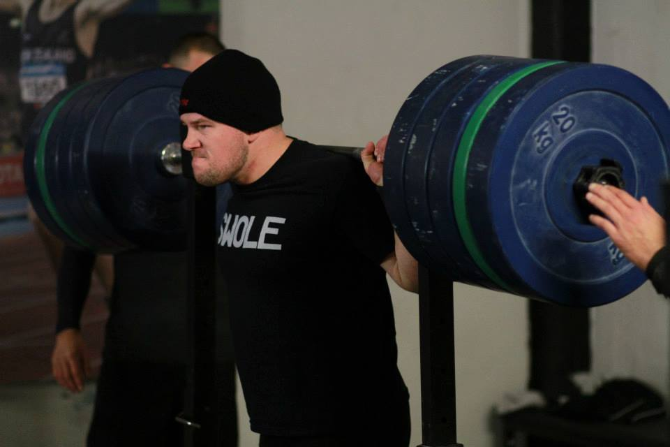 The CrossFit Total will be held over all sessions today. There will be NO met con  today. Back Squat. Shoulder Press. Deadlift. Lets get it awn!