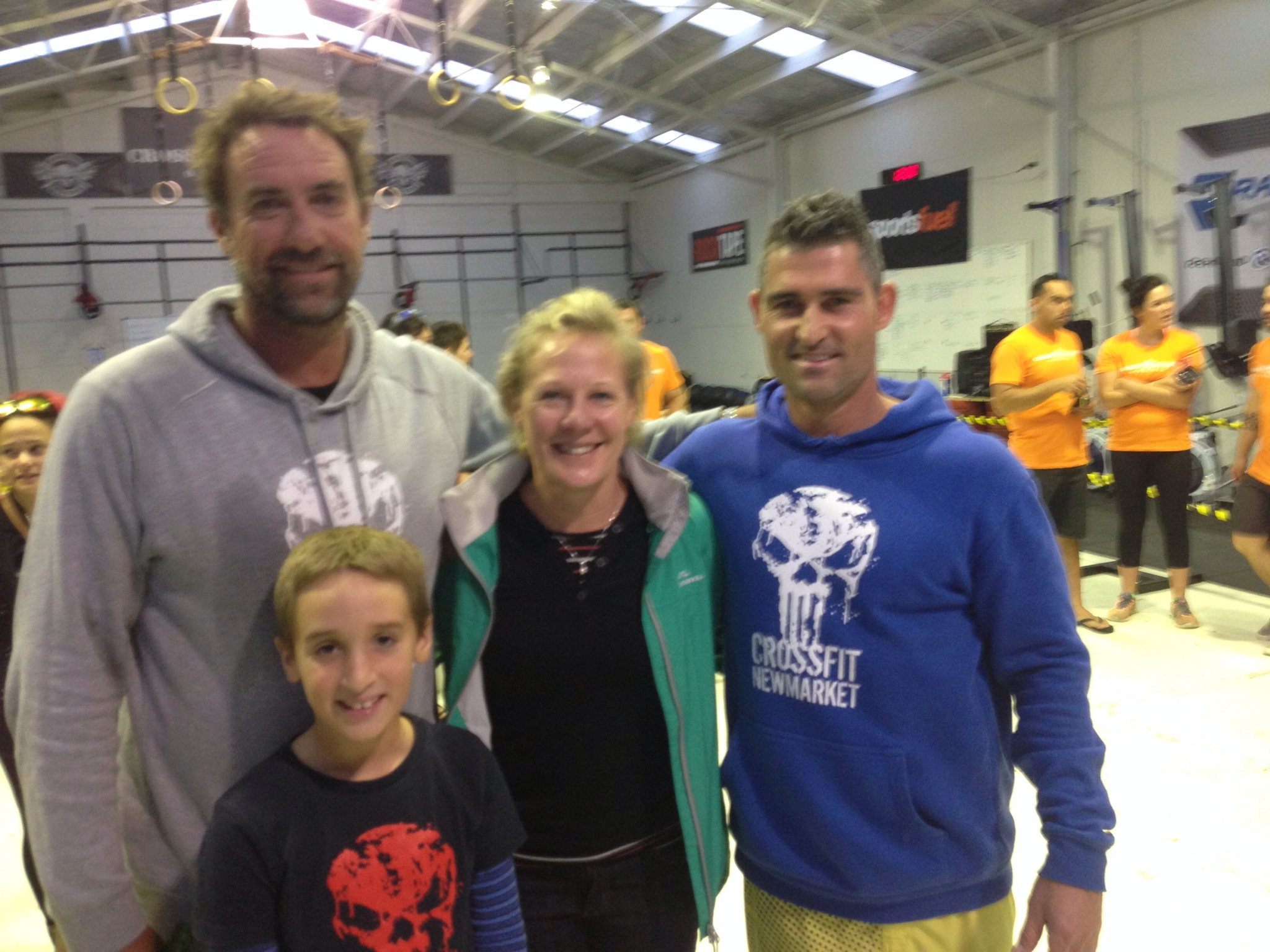 Bucket, Suzie and myself are real proud to take the podium and win our respective divisions at the NZ CF Masters on Saturday. Perty and Adam also performed really well in the very tough Mens 40+ RXD division, but a big thanks to Carl and the crew out at CF Dynamite Onehunga for a well run comp. :-)