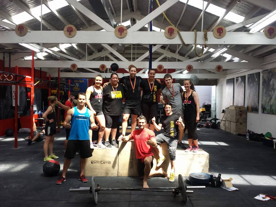 Big Ups to those from CFN, Quattro and CF East Auckland that courageously lined up in their scary first comp on Saturday morning. Over 70 athletes gave it everything in an awesome morning of pain, smiles and great beats. Then the NZFL provided the entertainment with our Open team pushing the more experienced Quattro all the way but missing out narrowly . Our Prems then dominated against CFEA and found their rhythm after some tough close losses in recent weeks. Then the very ludicrous UNDY WOD rounded off the weekend with over $400 raised towards Mens Health. Thank you all for your participation and support in these events. This defines who we are as a box and the love and care you guys show  demonstrates why CrossFit is so much more than workouts for time,  awesome bodies and PB's..:-)