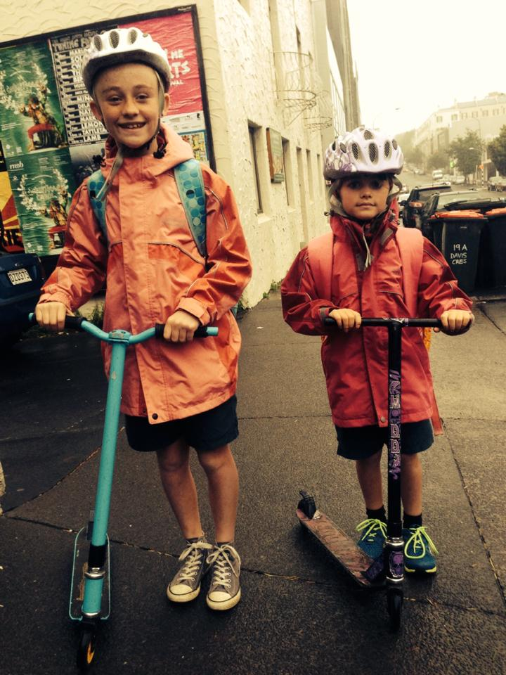 Grab your kids scooter and get on down for todays Scooter WOD. This workout is an all family affair and kids should be encouraged to get amongst it..maybe show us a few forgotten skills along the way! BYO BBQ after :-)