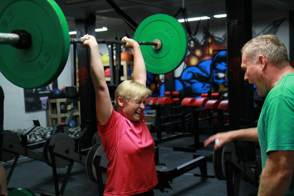 A blast from the past. Masters weapon Michelle in her first Open in 2013. This will be her third and looking way stronger these days. A reminder that the 2015 Open starts on Feb 28 and we need you! Wednesdays will feature some clean tech work followed by an Open workout from the last 5 years, and Sundays the Beastwod will feature CF Regional workouts to test your mettle . The Red Skulls Barbell Club will meet next Wednesday night at 7pm to drill some technique and efficiency into your lifting , and a chance to share ideas and slow things down a bit..Enjoy 13.4!
